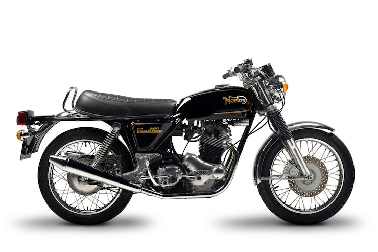 Norton Commando 1974
